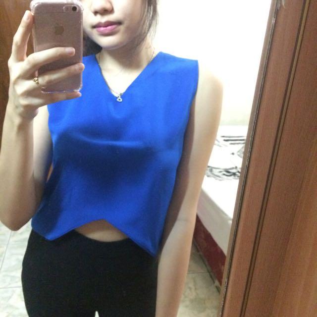 Tshirt Woman In Blue