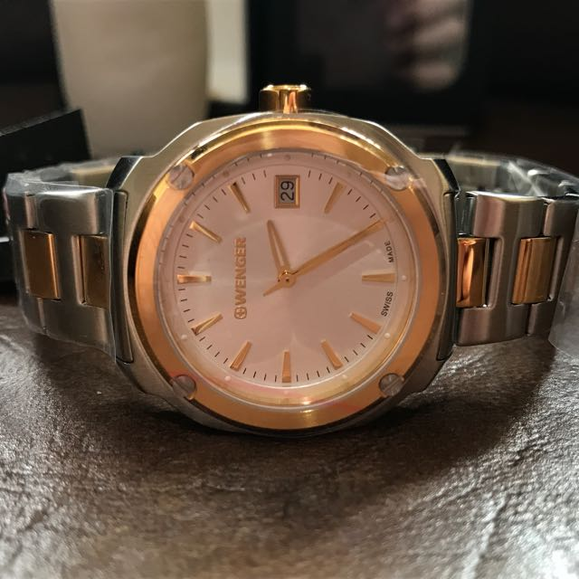 Two-tone Wenger Watch