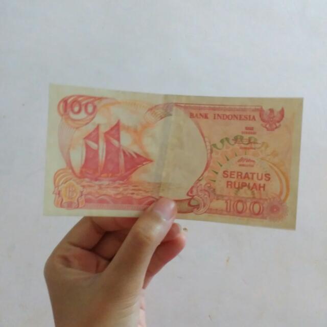 Uang Seratus Rupiah Thn 92