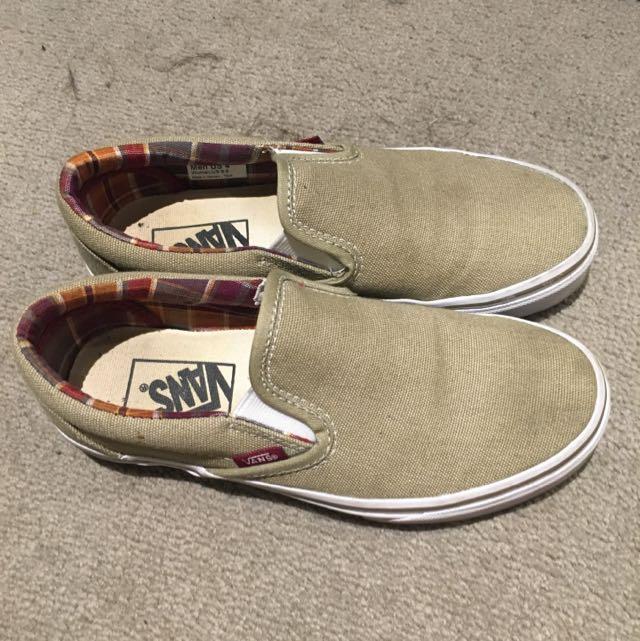 Van Shoes Size 5.5 Woman