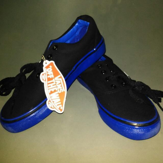 Vans black-blue sneakers