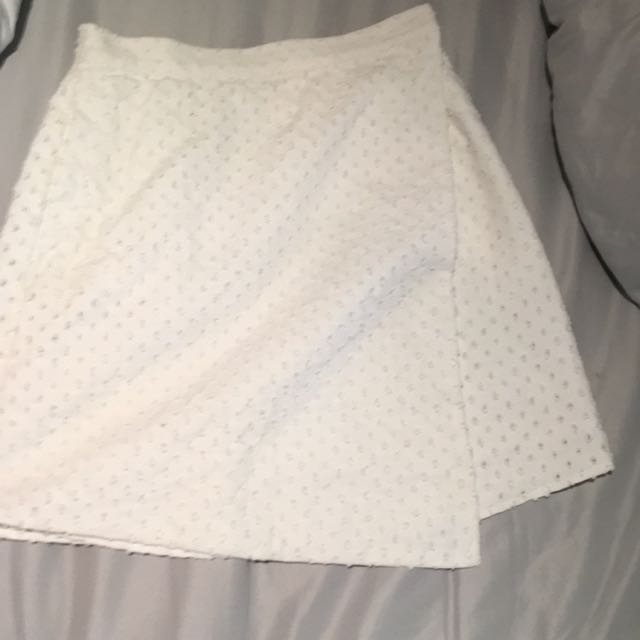 White The Fifth Label Skirt