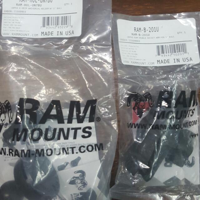 X Ram Mount Set
