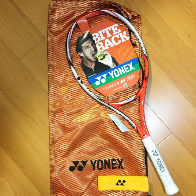 全新YONEX VCORE Si 100 280G 網球拍 球拍