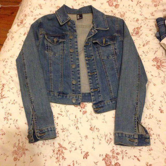 Ziggy Denim Crop Jacket
