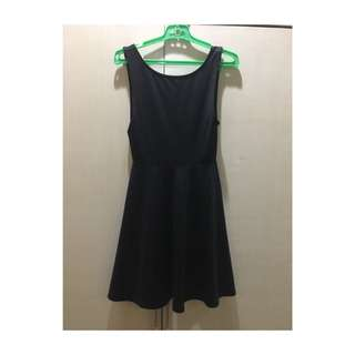 H&M Little Black Dress with Low V Back
