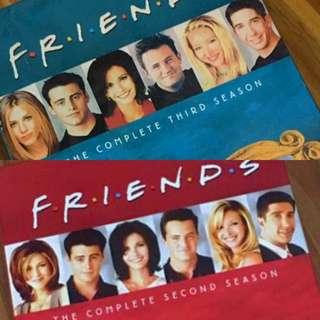 FRIENDS Box Set DVD Bundle (Seasons 2&3)