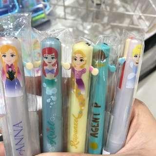 100%正版迪士尼 雙色筆 原子筆
