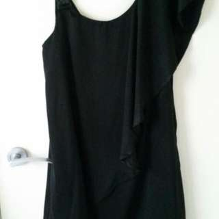 Black Cocktail Dress Size 8