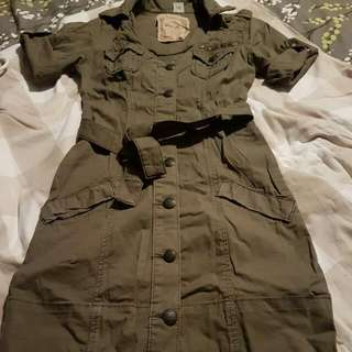 Military Dress(guess Brand)