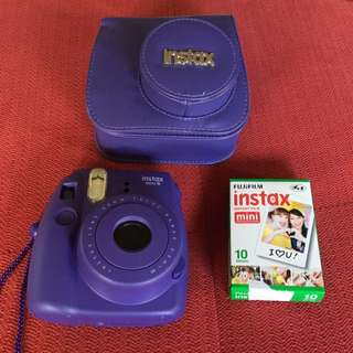 Instax Camera Mini 8 Purple With Film