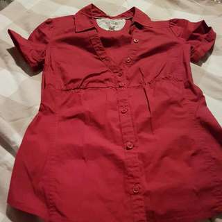 Red Polo ( Mango Brand)