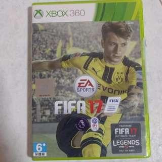 XBOX 360 FIFA 17.