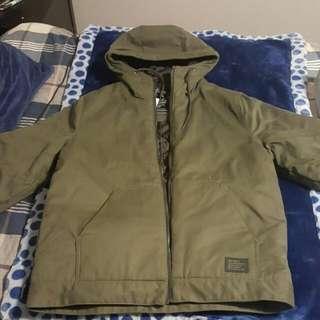 H&M Green Cargo Jacket