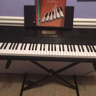Casio High Tech With Piano Stand