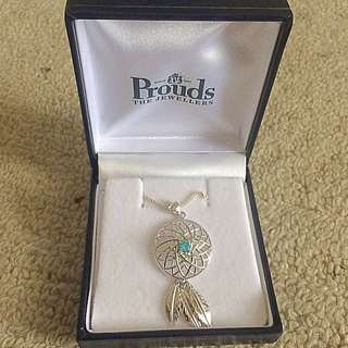 NEW Prouds Jewellery Dream Catcher Necklace