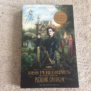 NEW miss Peregrine's Home For Peculiar Children Time Burton Book