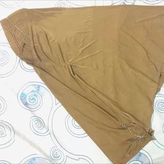 jilbab khaki