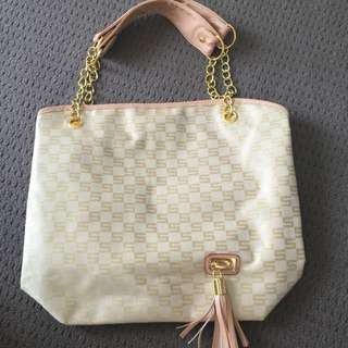 gold bag NWT