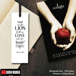 Twilight Bookmarks