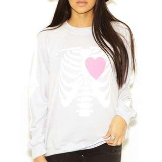 Wildfox My Beating Heart Sweater $150