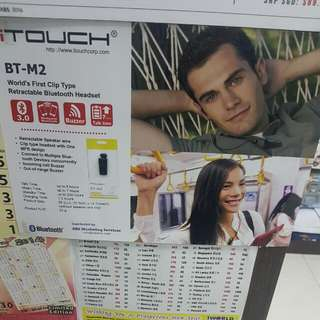 i-Touch Bluetooth Headset