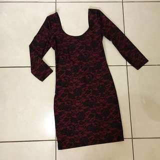 Forever 21 Original Bodyfit Dress (size s)