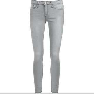 H&M Lighr Grey Skinny Jeans