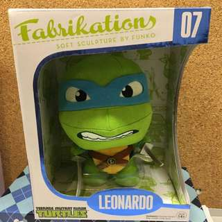 Fabrikations-Soft Sculpture By Funko(Linja Turtles)