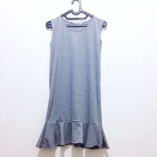 NEW - Grey Knit Dress - Bangkok