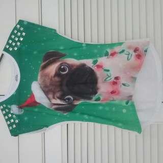 Cute Christmas Pug Shirt!