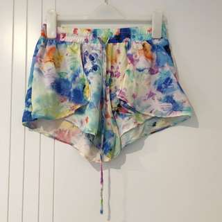 Little One Floral Shorts