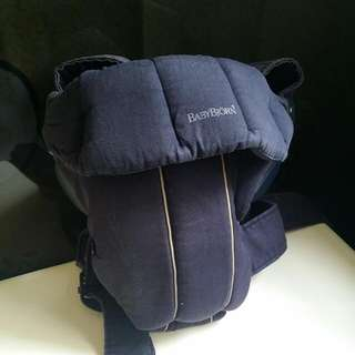 Baby Bjorn Carrier With Drool Cloth