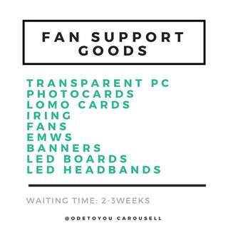 Customised Fansupport Goods
