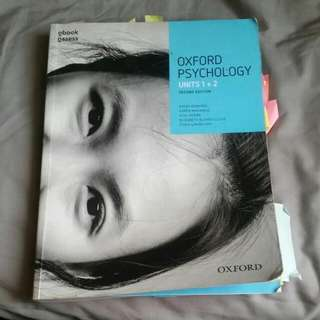 Oxford Psychology Units 1+2 Second Edition