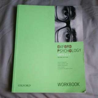 Oxford Psychology Workbook Units 3+4