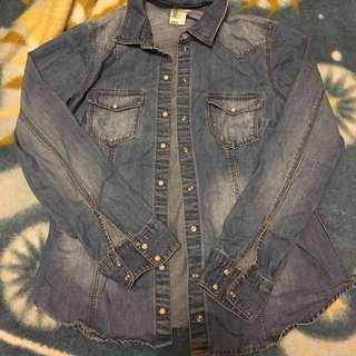 H&M Denim Shirt