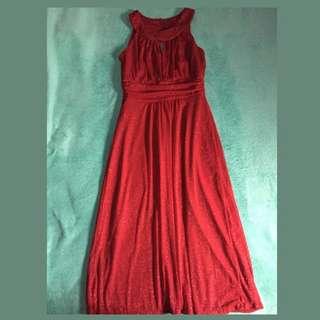 Red Glamo Dress
