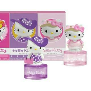 Original Hello Kitty Fragrance (Sanrio) / Jogging in New York Collectable Figurine By Koto Parfums (From France)