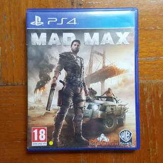 Jual BD PS4 Mad Max