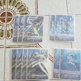 Aqua Force Deck 4 heal 7crit 7stand