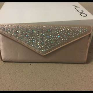Pink Nude Clutch