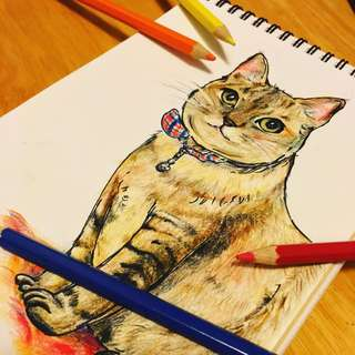 寵物肖像畫