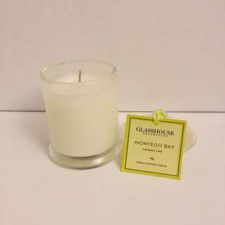 Glasshouse Montego Bay Candle Coconut Lime