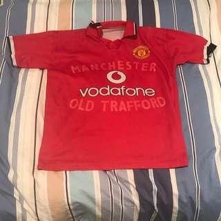 Rare David Beckham Manchester United Jersey