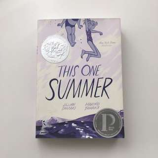 This One Summer Graphic Novel by Jillian and Mariko Tamaki