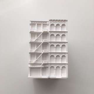 White Building Pen Holder (From MoMA New York)