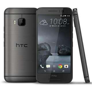 HTC S9 黑灰 9成7新 保固到2017年11月