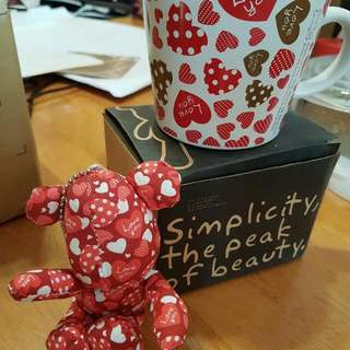 Bear in a mug (Valentine's gift)