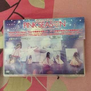 Apink Japan Concert Pink Season DVD